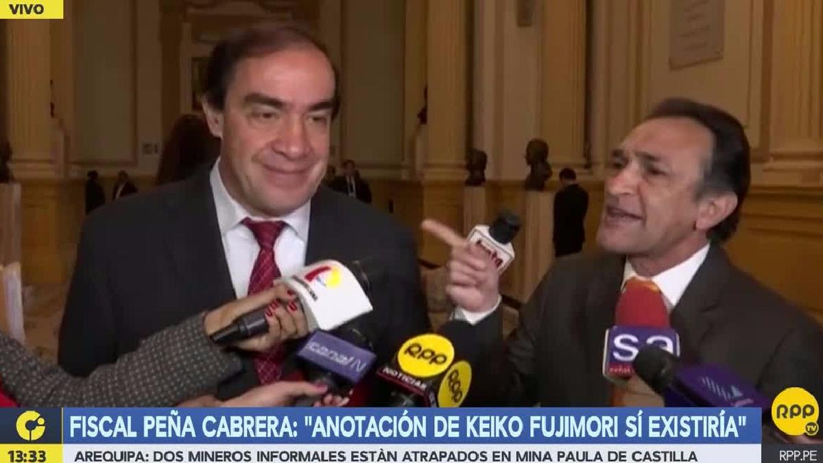 La discusión se dio luego de que Lescano comparó las situaciones de Nadine Heredia y Keiko Fujimori.