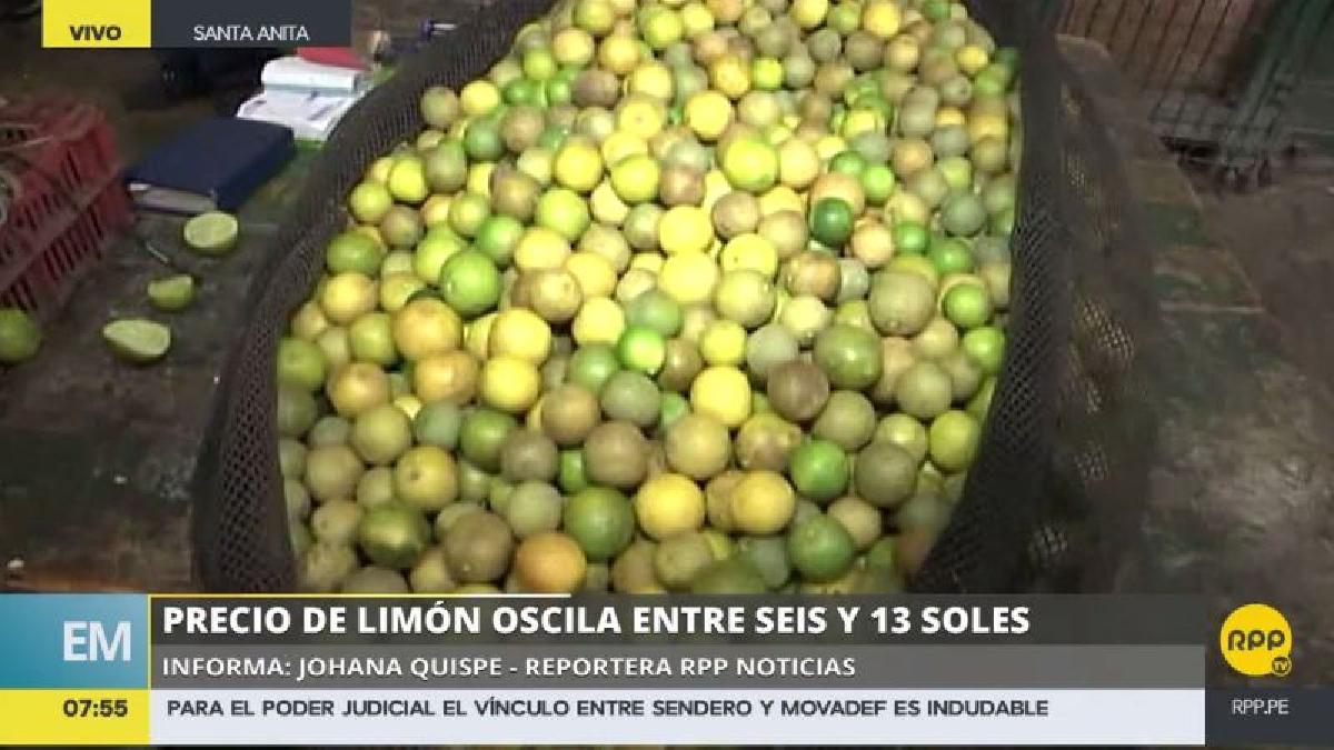 El 'pavita' es una alternativa ideal al desabastecimiento de limón en la capital.