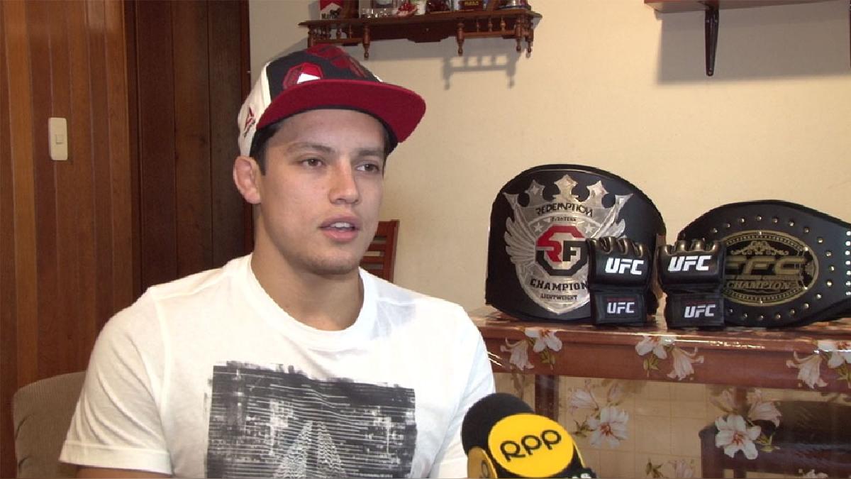 Humberto Bandenay es el cuarto peruano que ha pelado en la UFC.