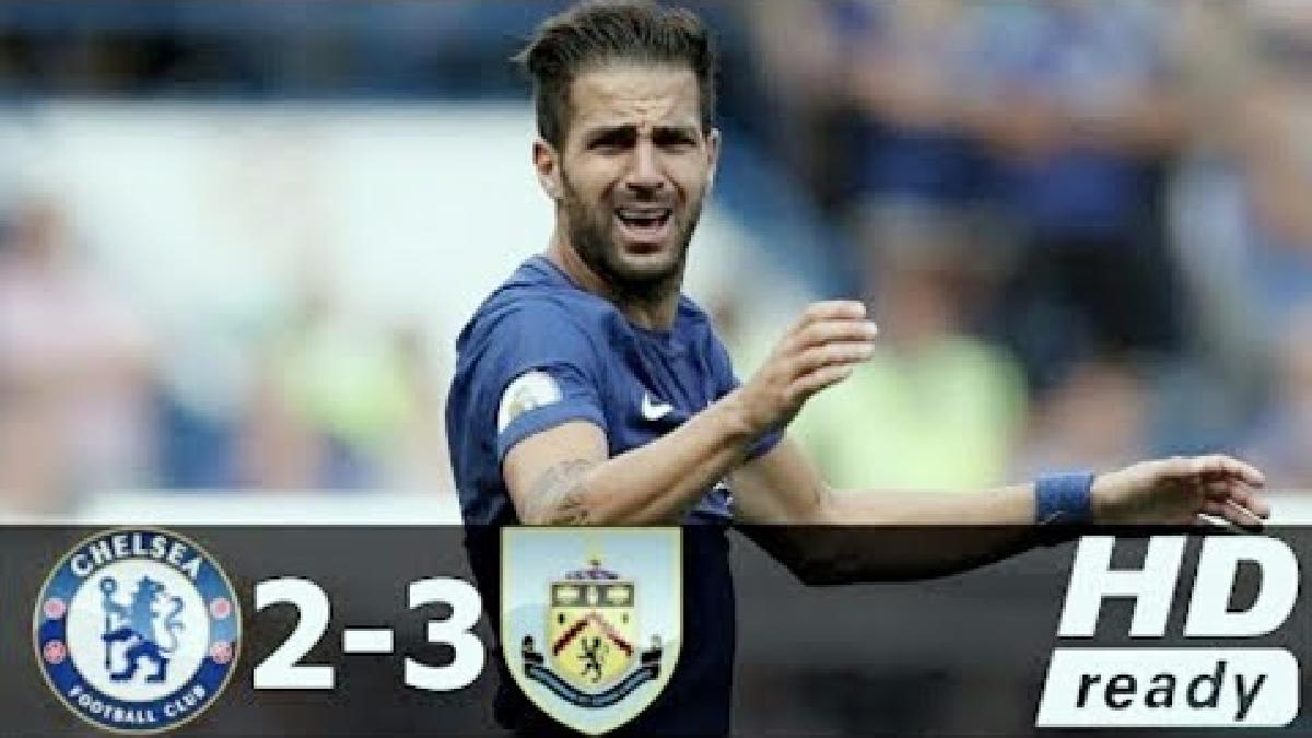 Resumen y goles de la derrota del Chelsea ante Burnley.