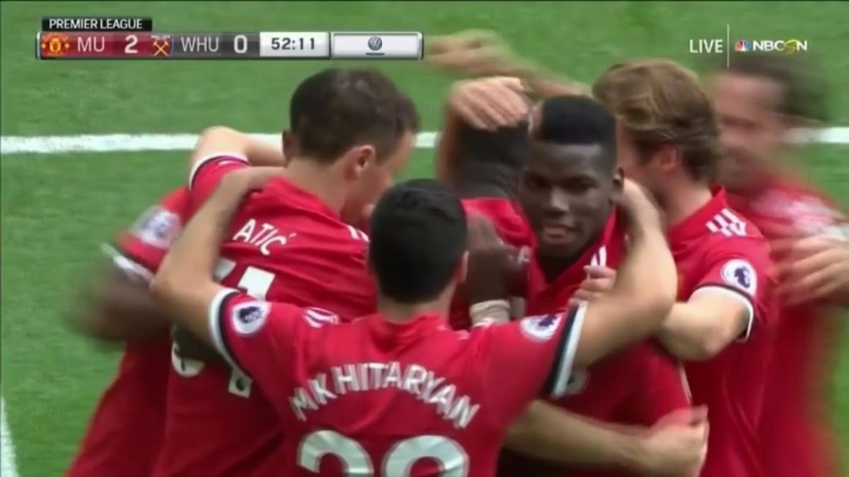 Revive el segundo gol de Romelu Lukaku en el Manchester United