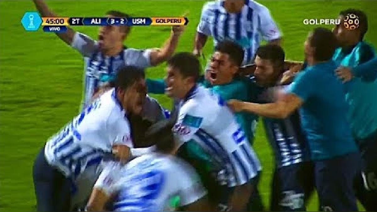 Revive el gol de Gonzalo Godoy a la Universidad San Martín para el 3-2 final a favor de Alianza Lima.