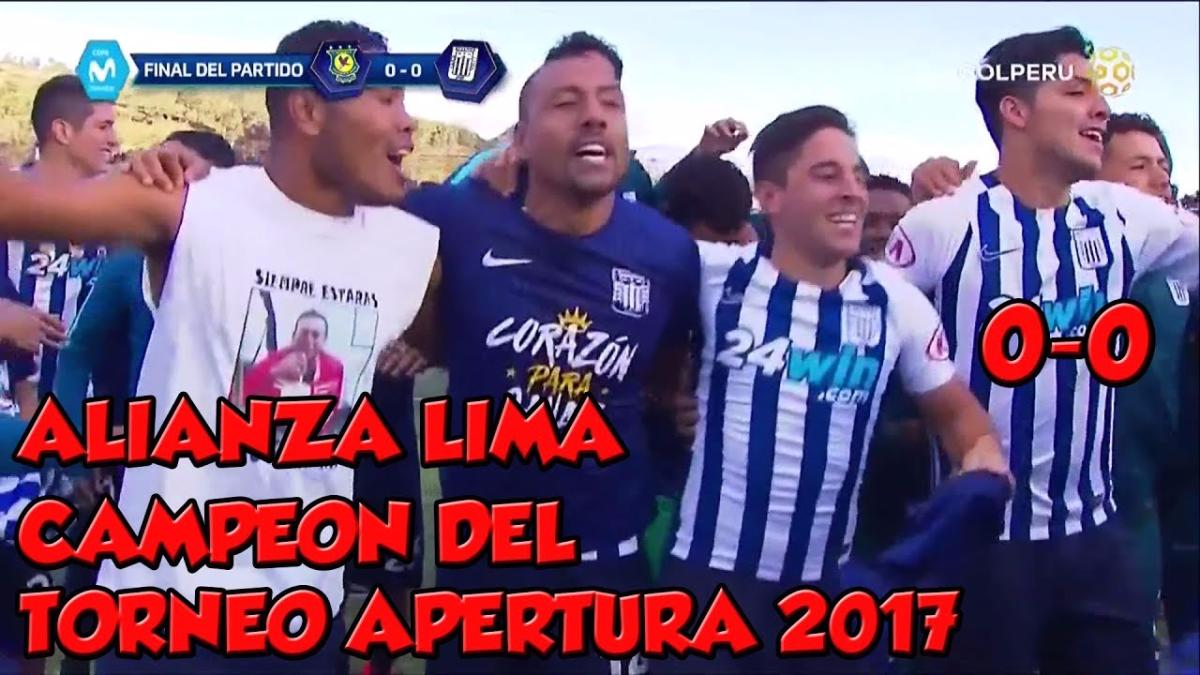El resumen del partido entre Alianza Lima y Comerciantes Unidos en Cutervo.
