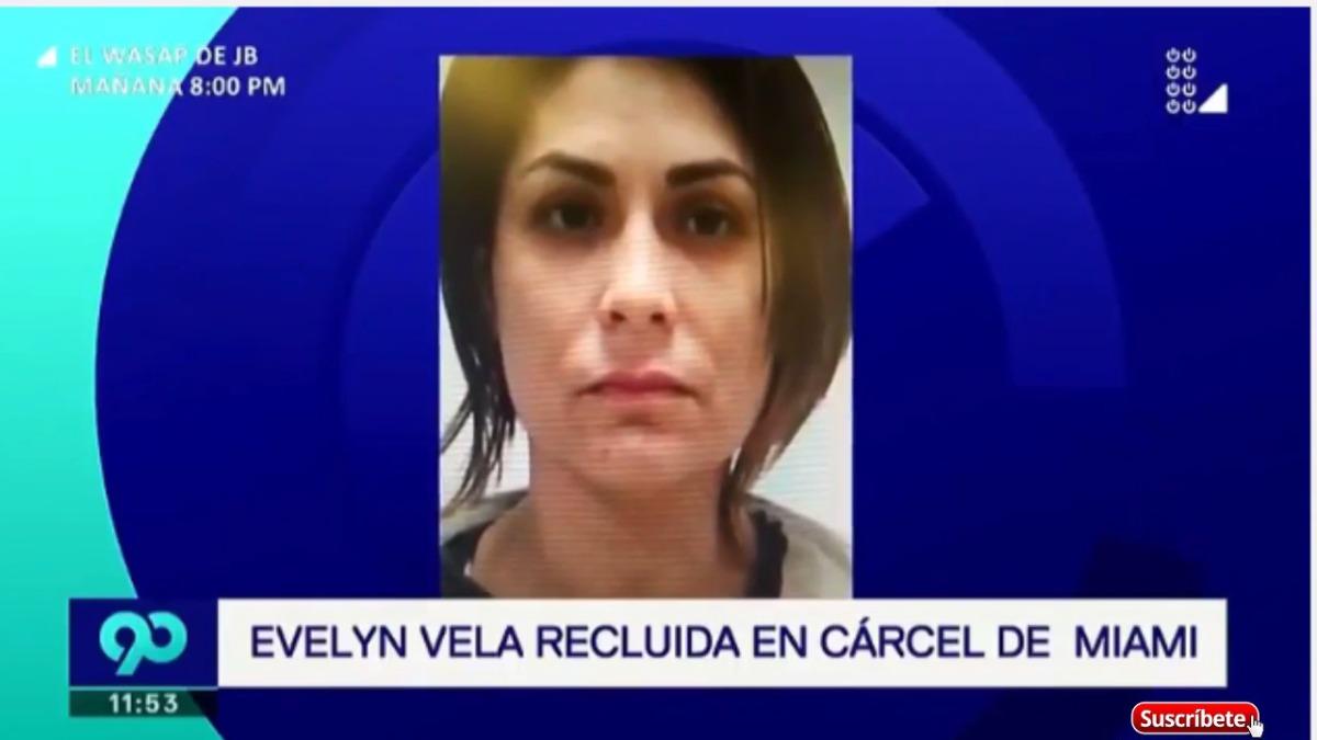 La bailarina Evelyn Vela fue recluida en cárcel de Miami