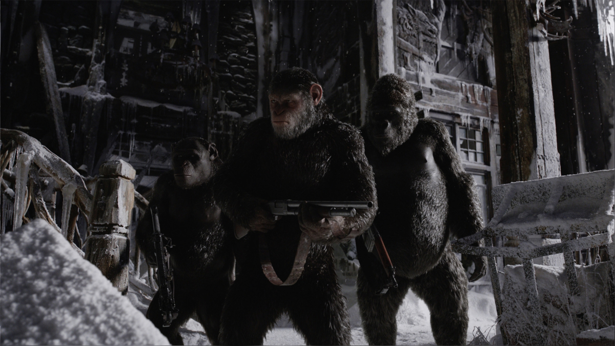Esta trilogía, con el desarrollo de algunas escenas y personajes, ha rendido también homenaje a la clásica saga de El Planeta de los Simios que comenzó a fines de los años sesentas