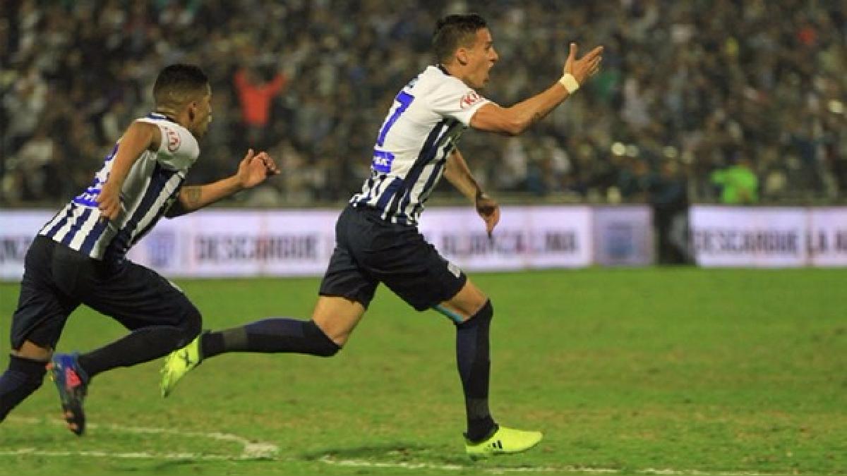 Gonzalo Godoy llegó esta temporada a Alianza Lima.