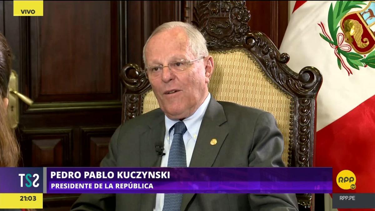 El presidente de la República, Pedro Pablo Kuczynski.