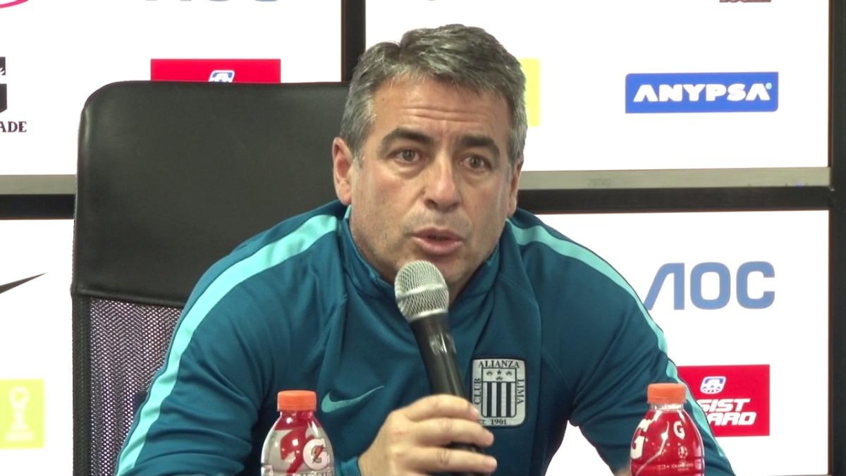 Pablo Bengoechea ha dirigido a Alianza Lima en 29 partidos del Descentralizado.