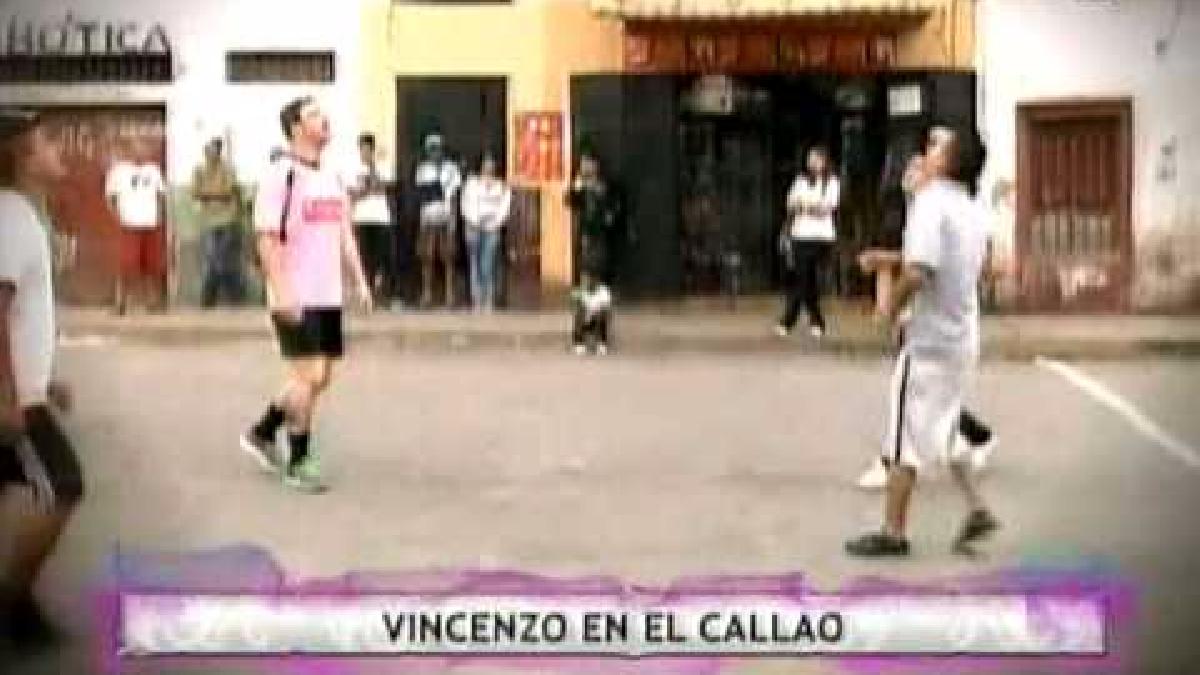 Vincenzo Gianneo luego de jugar en el fútbol peruano se unió a un programa de reality.