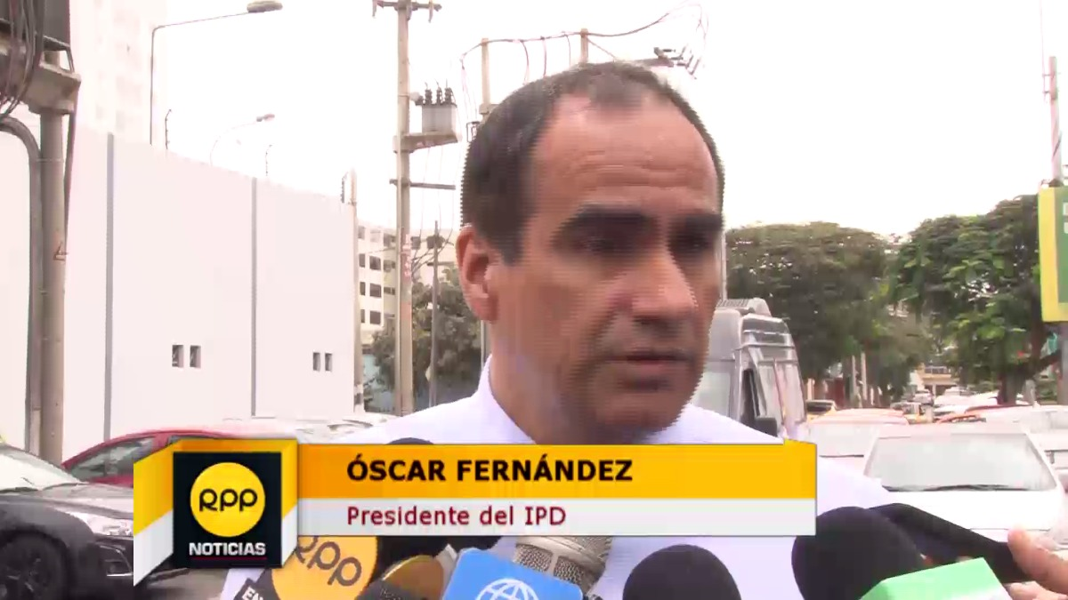 Óscar Fernández aclaró que el IPD no tiene inconvenientes con la FPF.