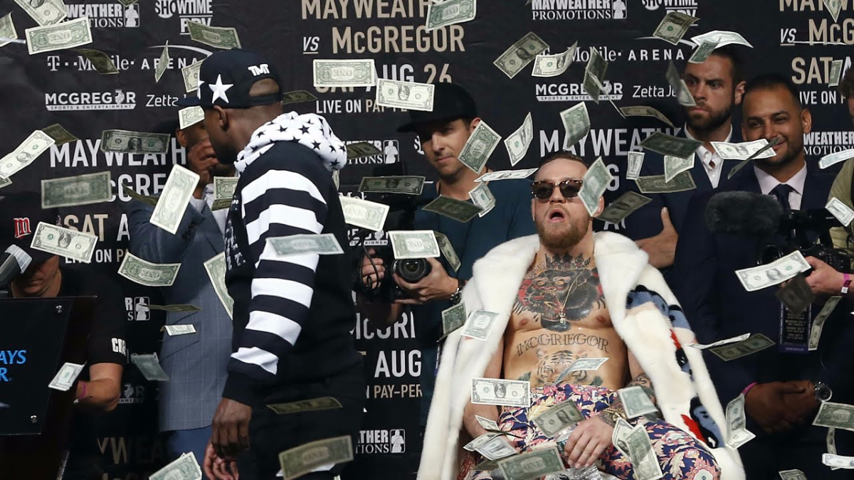 Conor McGregor vs. Floyd Mayweather | Tercer careo.