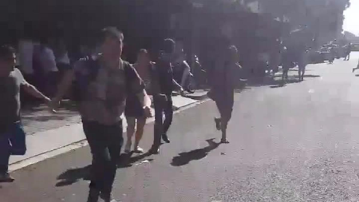Atentado en Barcelona | Escenas de pánico tras el atentado en La Rambla.