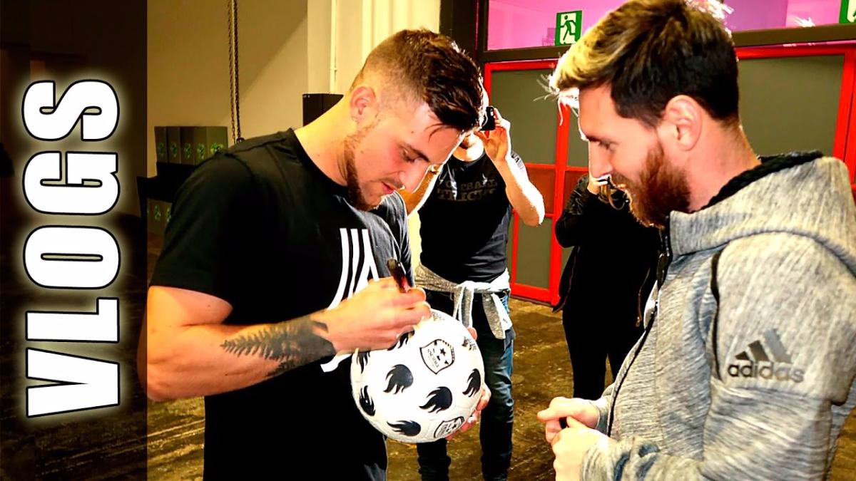 GuidoFTO es un youtuber argentino que viaja por el mundo buscando a gente que haga trucos y goles fuera de los común.
