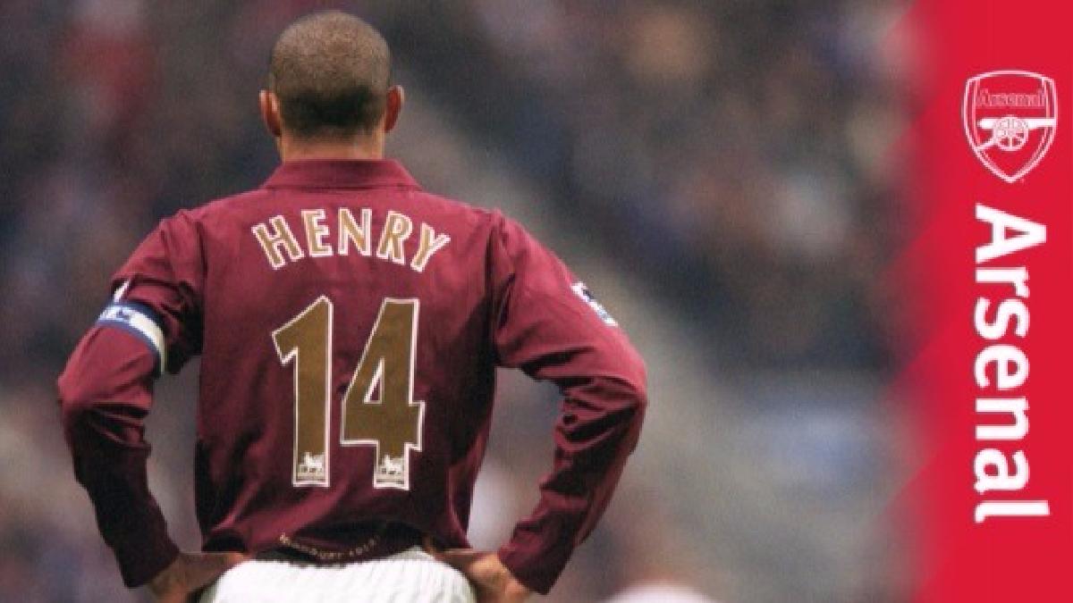 Los mejores goles de Henry en el Arsenal.