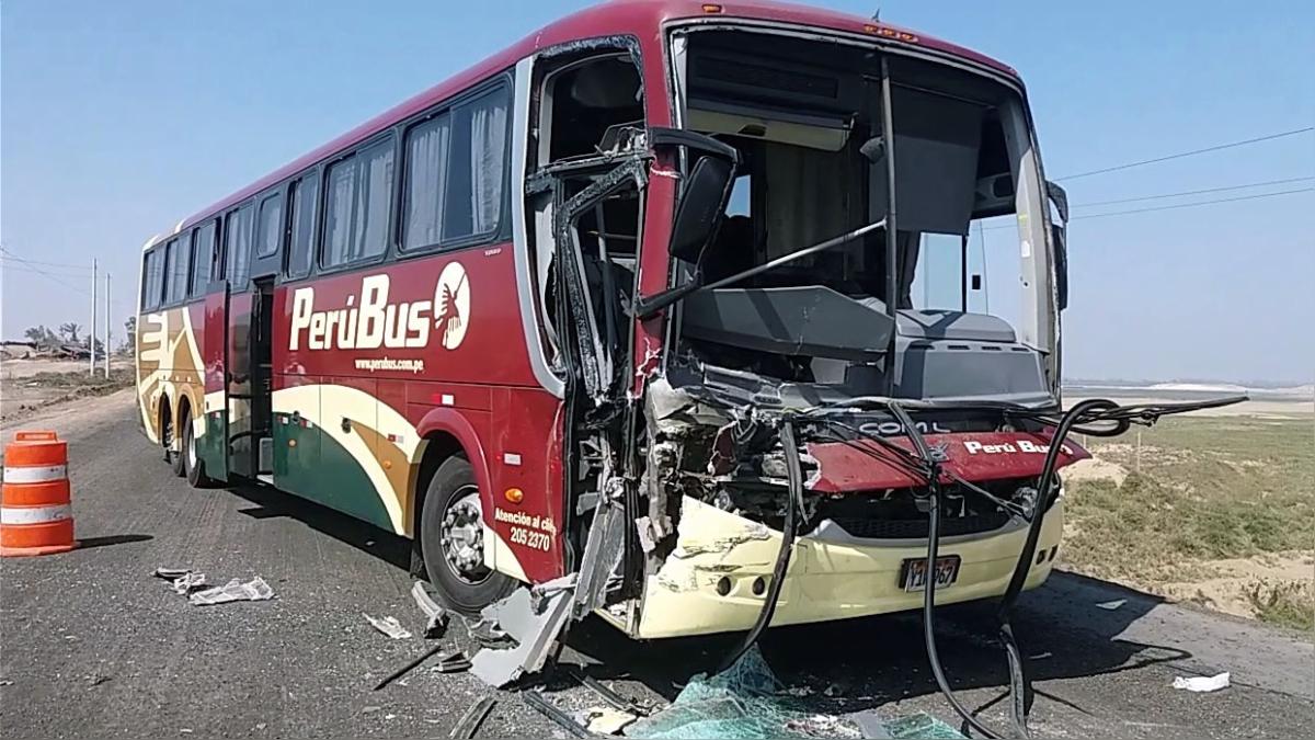 Un muerto y cuatro heridos dejó choque en Pisco.