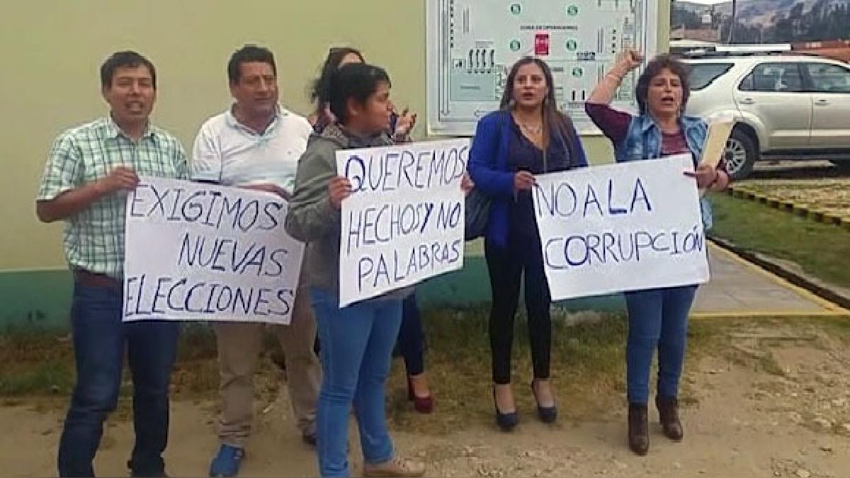 Un grupo de socios optó por abandonar el proceso electoral.