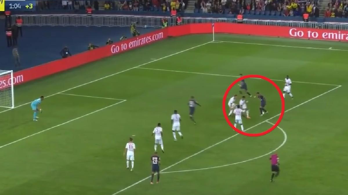 Revisa el golazo de Neymar para el 6-2 final del París Saint-Germain.