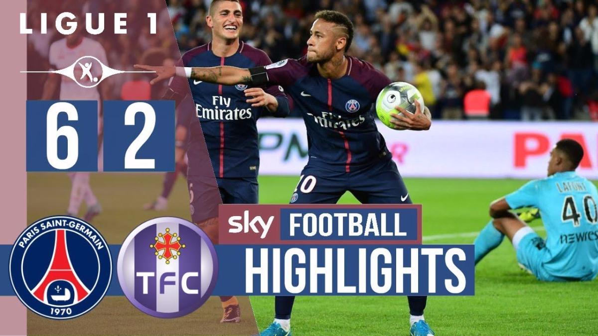 Revisa todos los goles del encuentro entre el PSG y el Toulouse por la Liga 1.