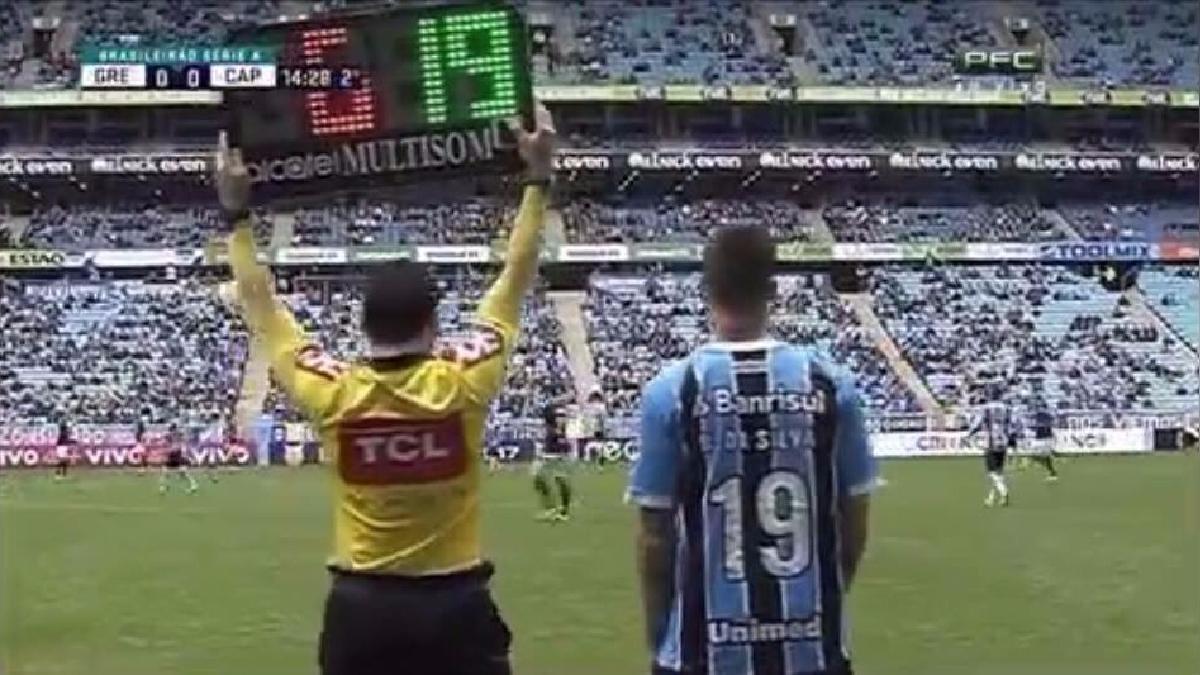 Revisa lo mejor de Beto da Silva con la camiseta de Gremio en el partido.