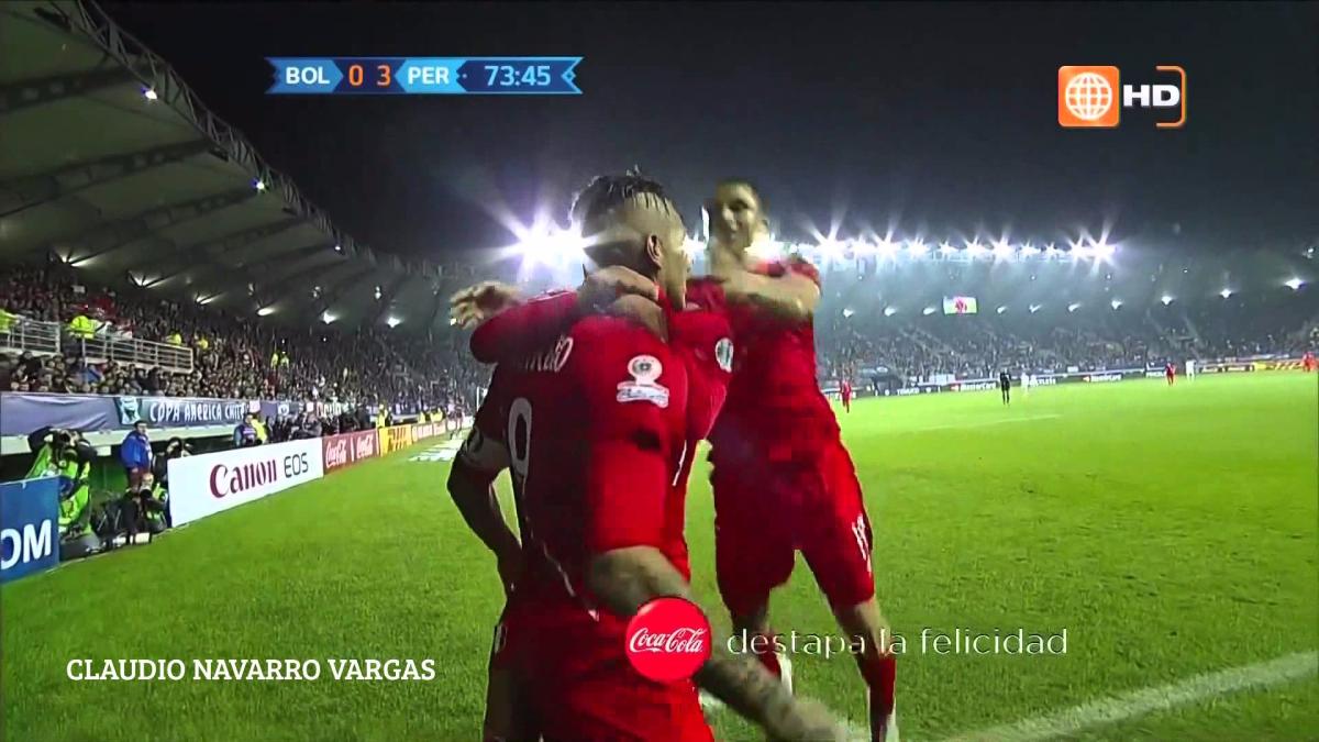 Revive los goles de Paolo Guerrero a Bolivia en 2015.