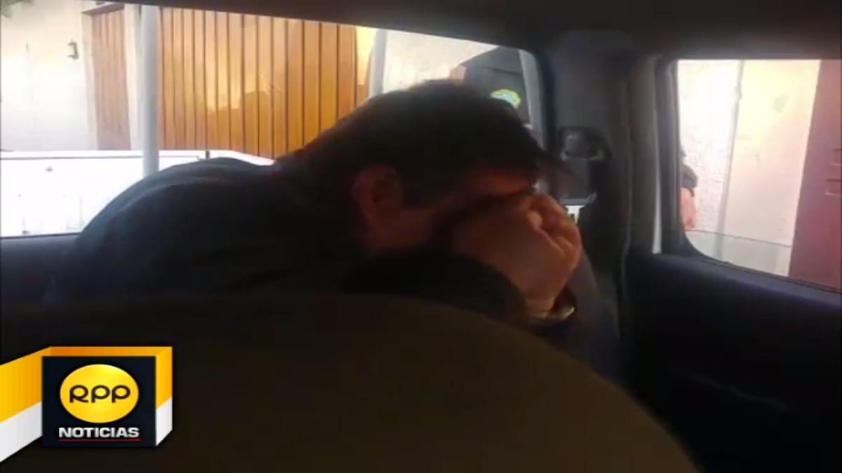 Percy Ballón Ramos, fue detenido recibiendo presunta coima.