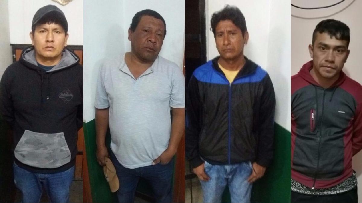Delincuentes fueron identificados y detenidos al interior de un hospedaje donde se encontraba todo lo robado.