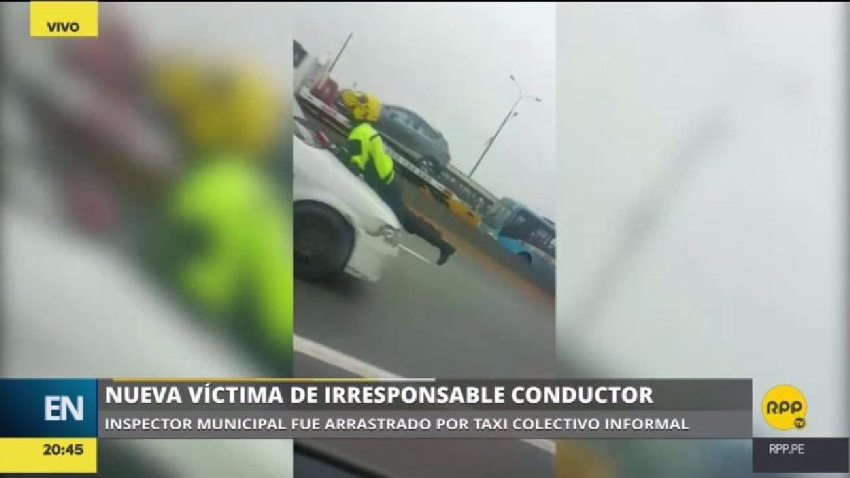 El incidente se produjo entre los puentes Huánuco y Balta de la vía de Evitamiento.