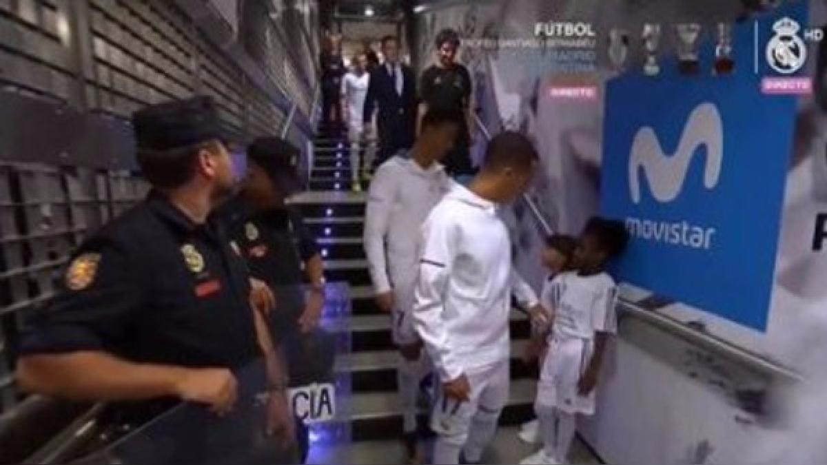 Cristiano Ronaldo recibió cinco partidos de suspensión tras la expulsión ante Barcelona.