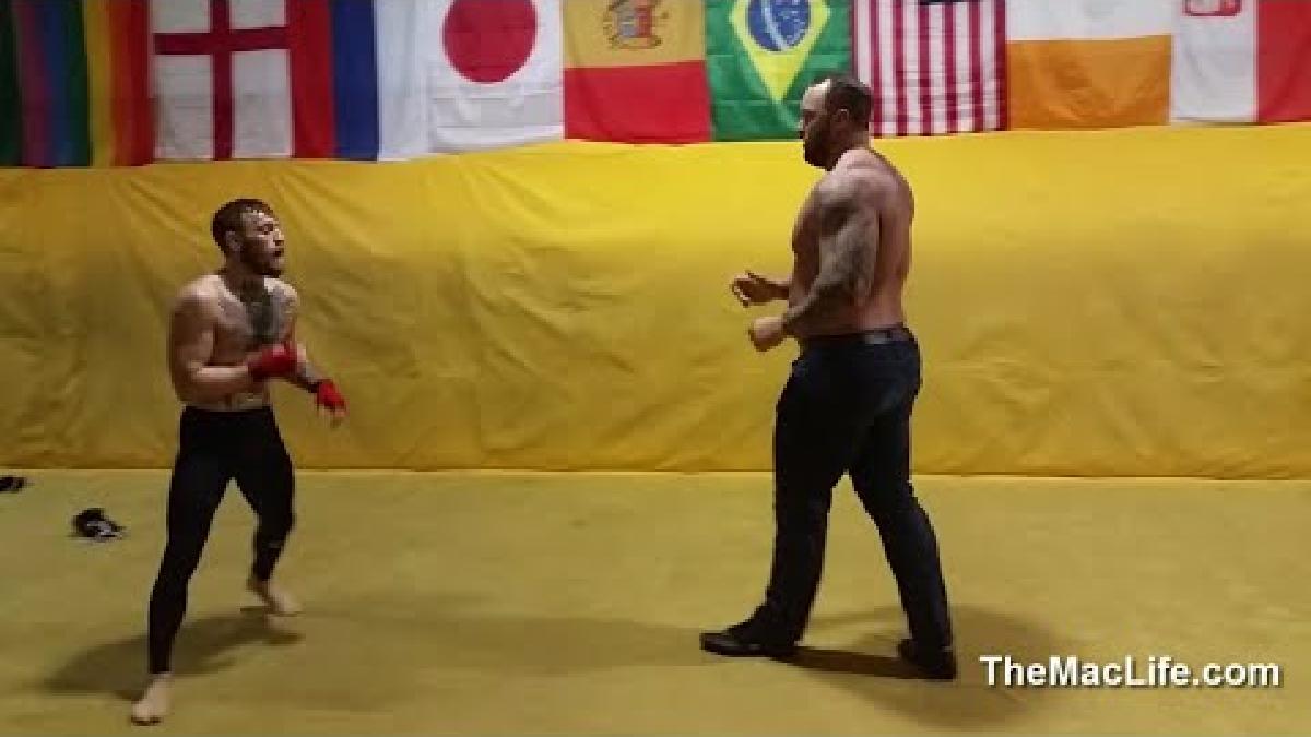 Conor McGregor ganó el campeonato de peso ligero de la UFC en noviembre del 2016, tras vencer a Eddie Álvarez.