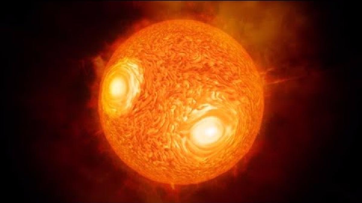 La estrella Antares es la más grande cercana a nuestro sistema solar.
