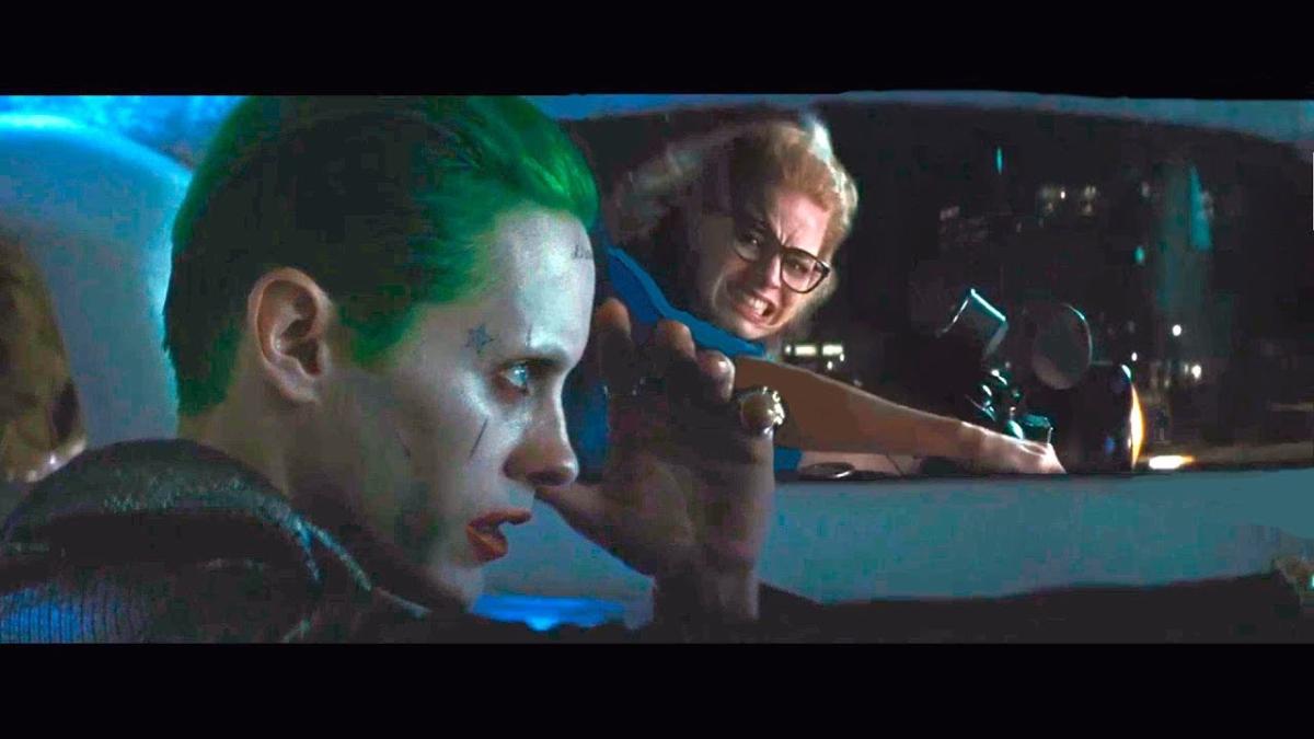 Harley Quinn y el Joker en escena eliminada de Suicide Squad