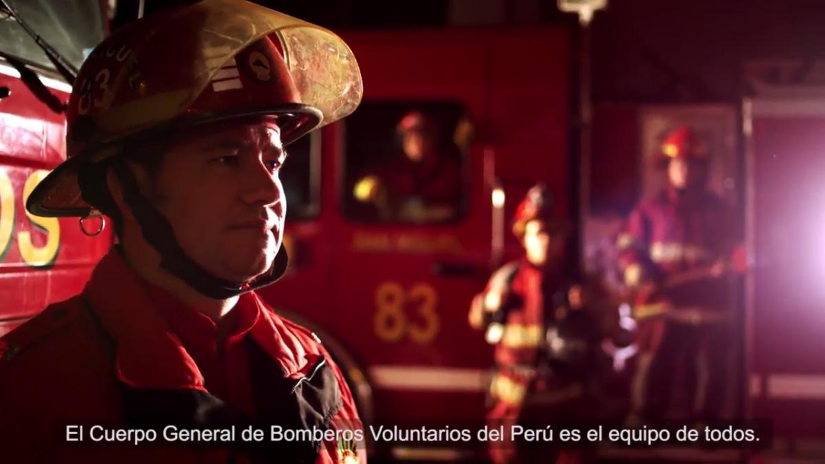 Este es el spot de la campaña que dará el 100% de las ganancias en beneficio de los bomberos.