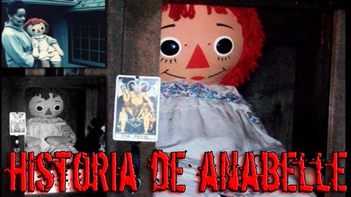La historia de la diabólica muñeca Annabelle.