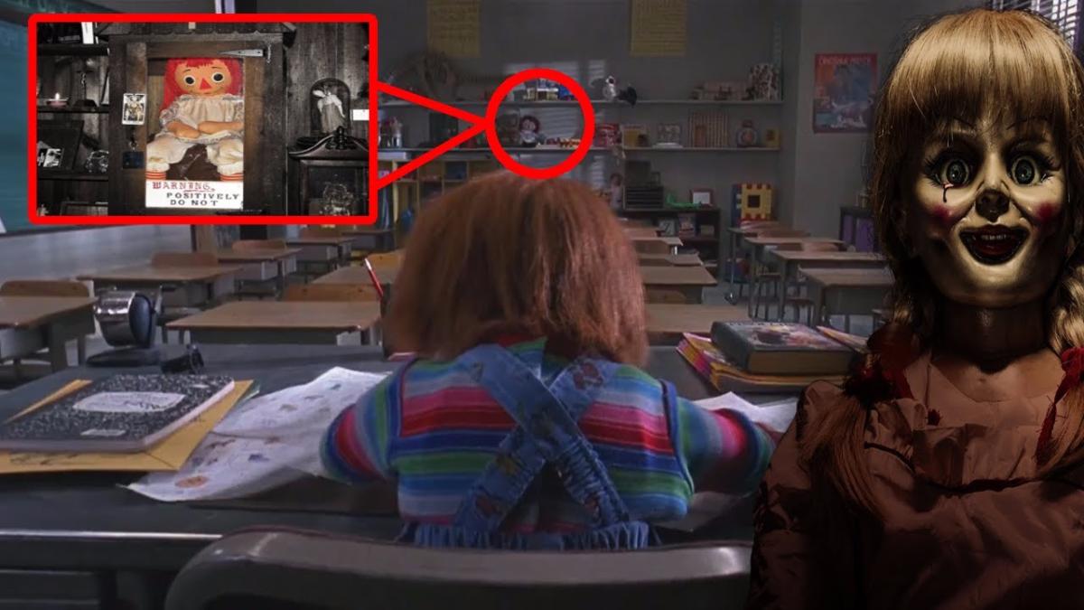 La muñeca hizo su aparición en 'Chucky 2'