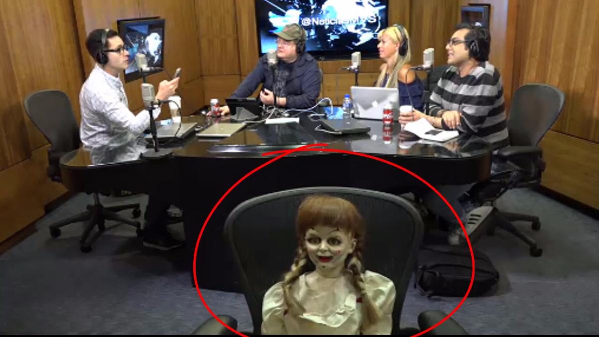 Este fue el preciso momento en que la muñeca se movió.