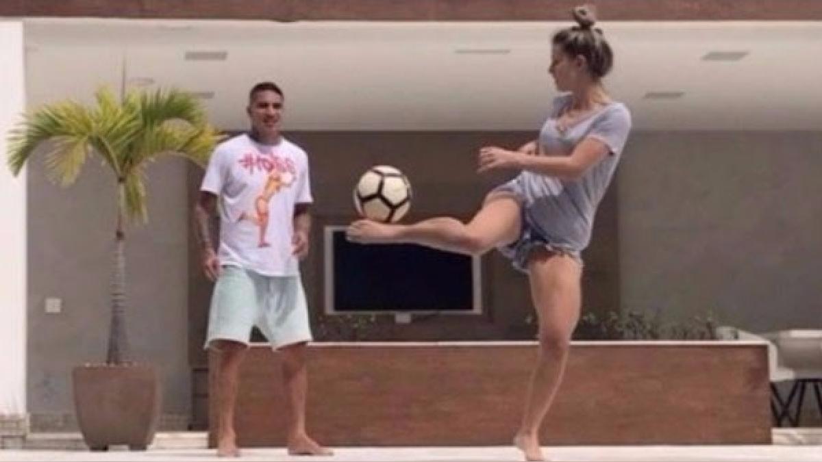 Paolo Guerrero se recuperó de su lesión y jugó ante Botafogo por la Copa de Brasil.
