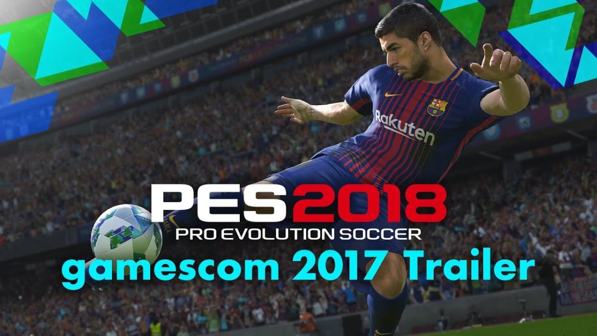 Este es el nuevo tráiler de PES 2018, publicado durante la Gamescom 2017.