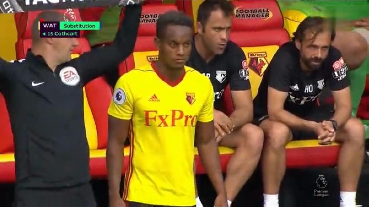 Revisa la mejor jugada de André Carrillo en su debut en la Premier League (minuto 1:32).