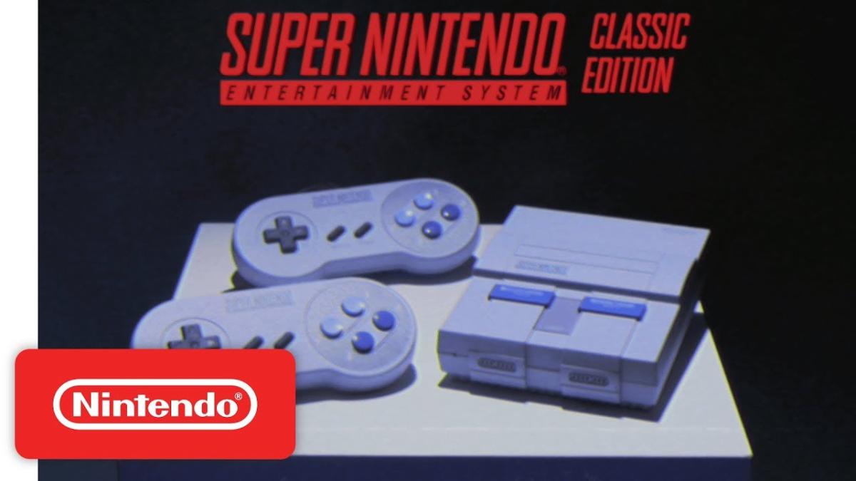Este es el nuevo tráiler de la Super NES Classic Edition publicado durante la Gamescom 2017.