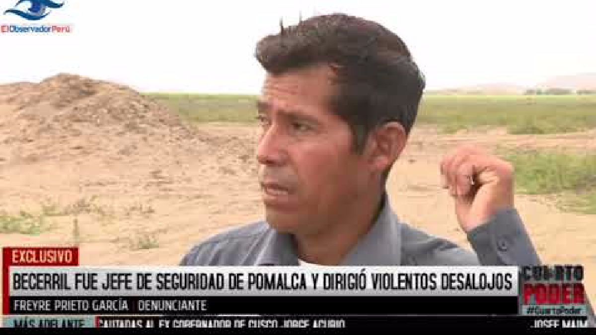 Héctor Becerril es legislador de Fuerza Popular por Lambayeque.
