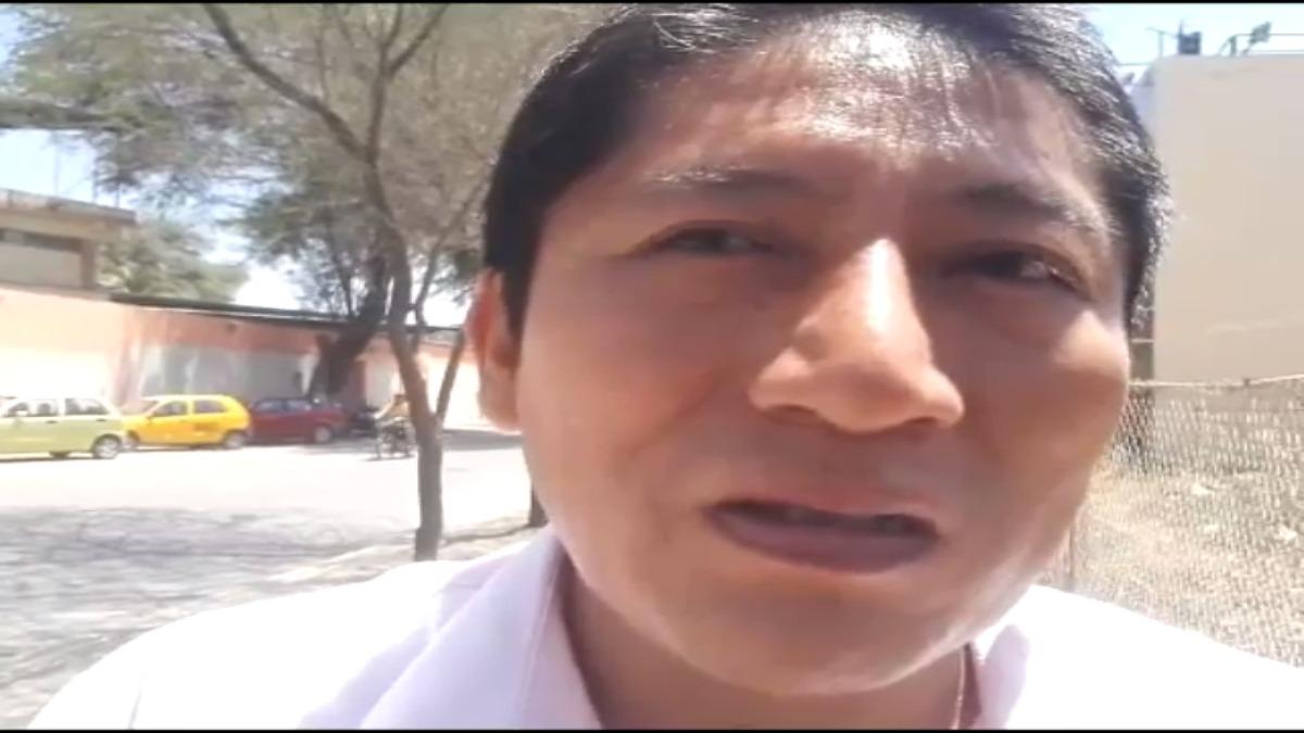 Héctor Yauri, ingeniero del Senamhi.