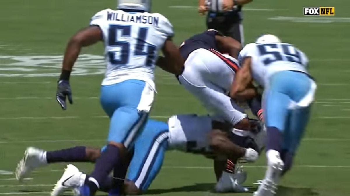 La brutal lesión de Cameron Meredith en la NFL que ha estremecido a Estados Unidos.