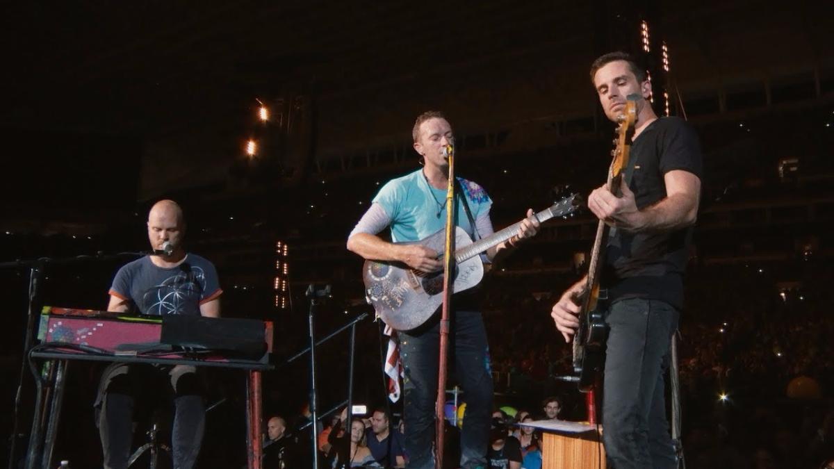 La banda tocó el tema en vivo.