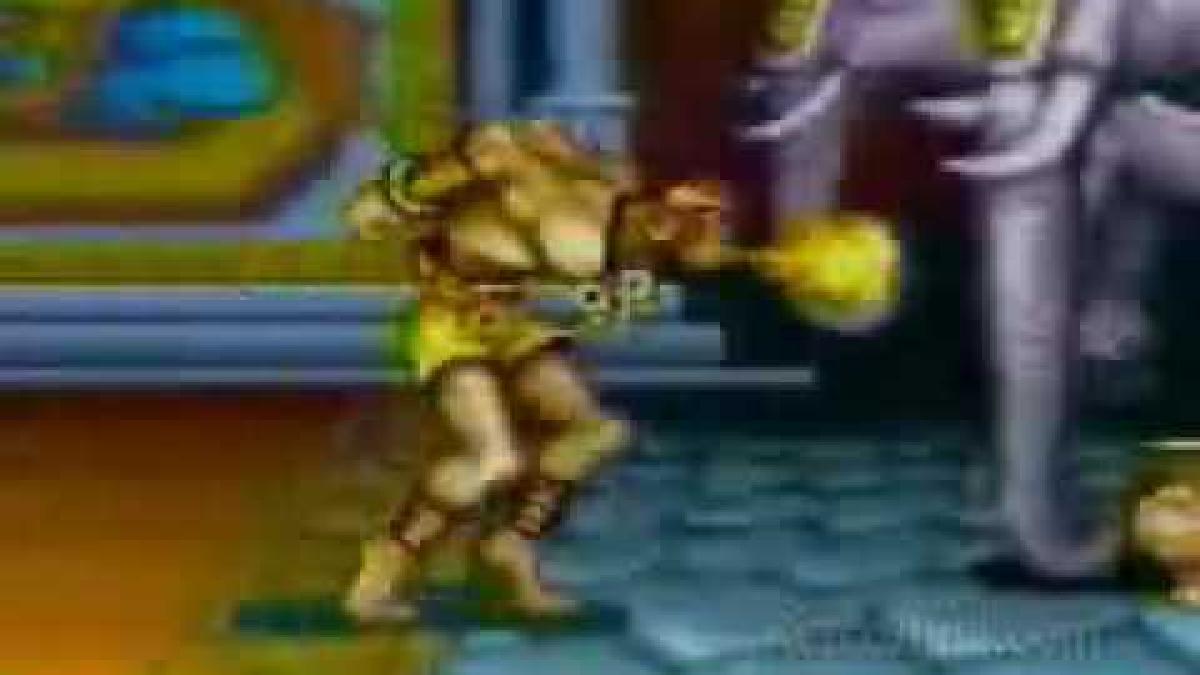 Así se promocionaba Street Fighter II en la televisión cuando fue lanzado, en 1991.