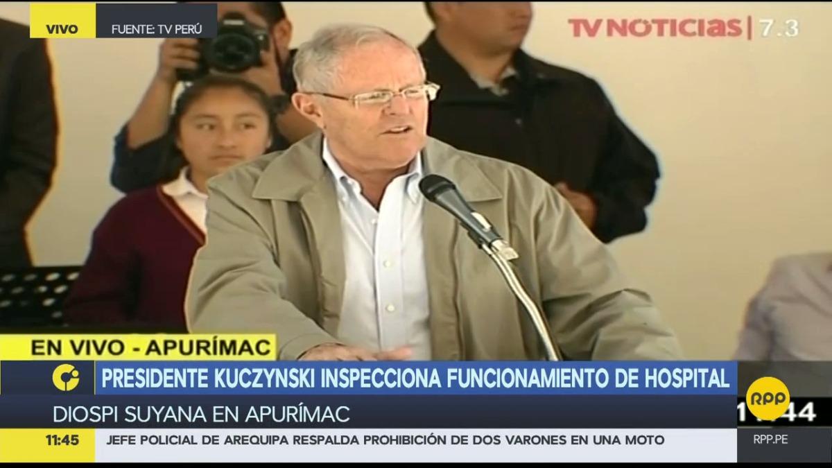 El presidente habló sobre el caso de la madre de la exministra Ana Jara.