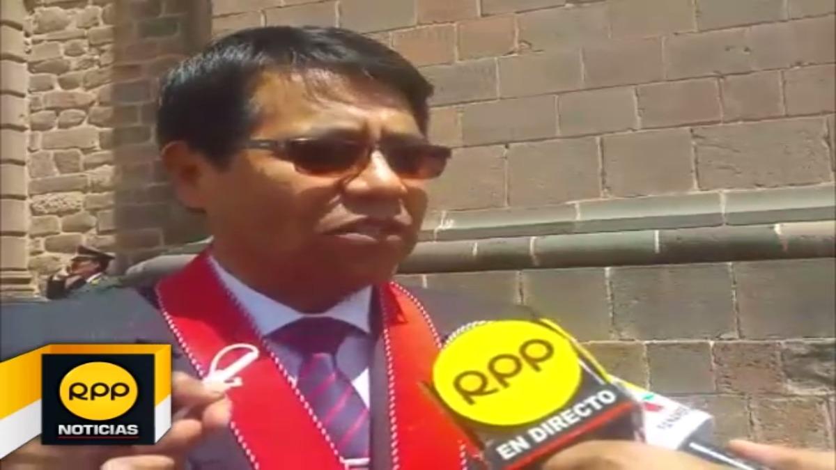 Presidente de la Junta de Fiscales de Cusco, Walter Becerra, espera que investigaciones se realicen en Lima