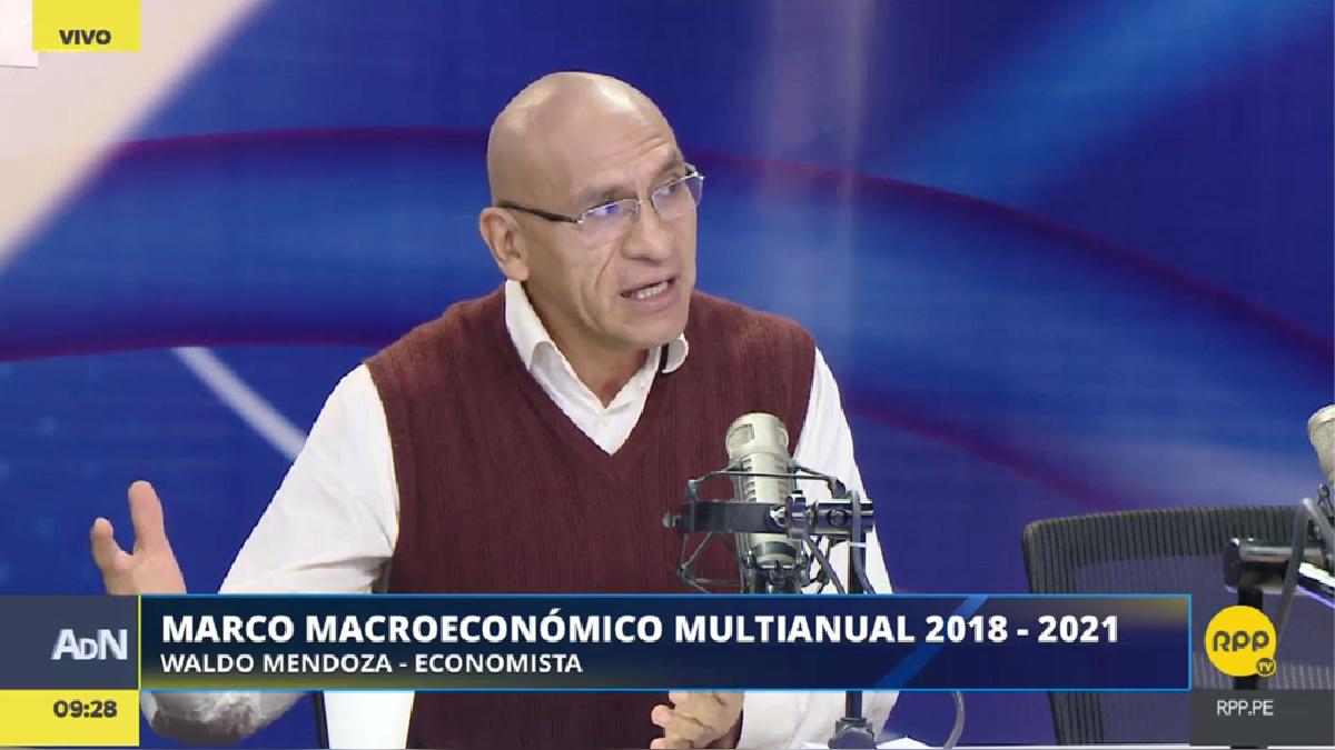 Waldo Mendoza comentó los lineamientos que se ha propuesto seguir el gobierno en los próximos años.