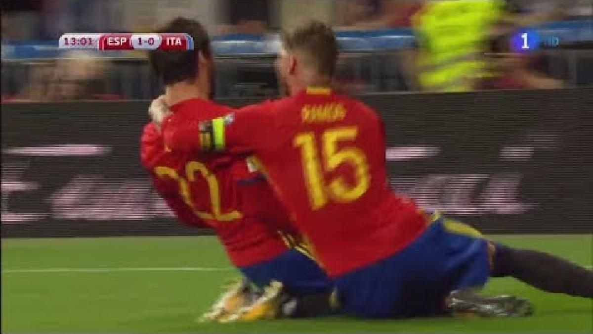 Revive el gol de Isco a Italia.