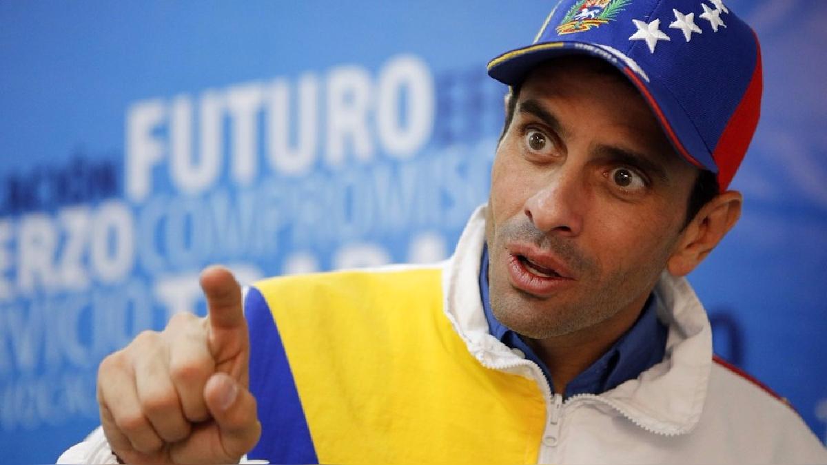 Capriles subrayó la importancia de la comunidad internacional para el plan de los opositores de lograr un cambio de gobierno.