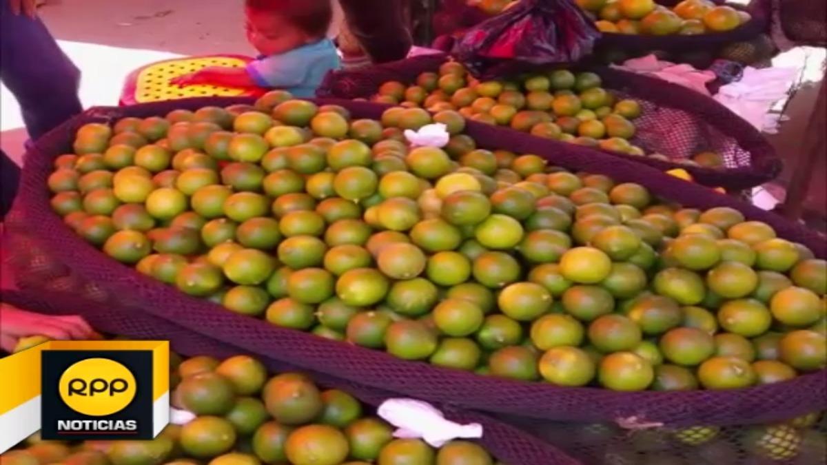 Comerciantes precisaron que los precios se estancaron debido al ingreso de limones extranjeros.